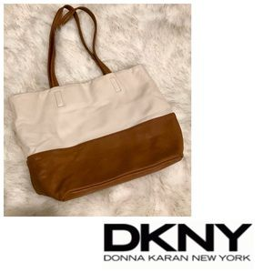 DKNY Soft Leather Tote